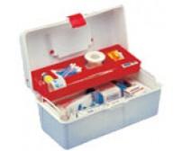 Maleta De Primeiros Socorros Caixa Plastica Com Divisórias caixa EM 250 (Caixa vazia, sem acessórios)